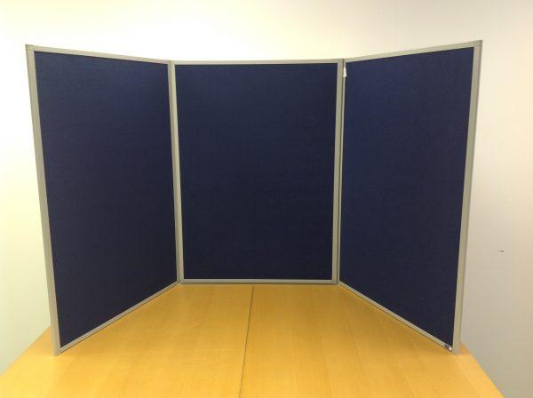display boards (3 blue)