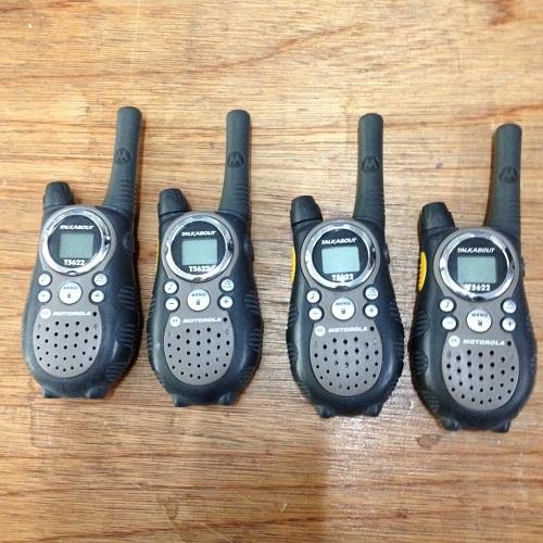 Walkie Talkies Motorola Pair-Quad.