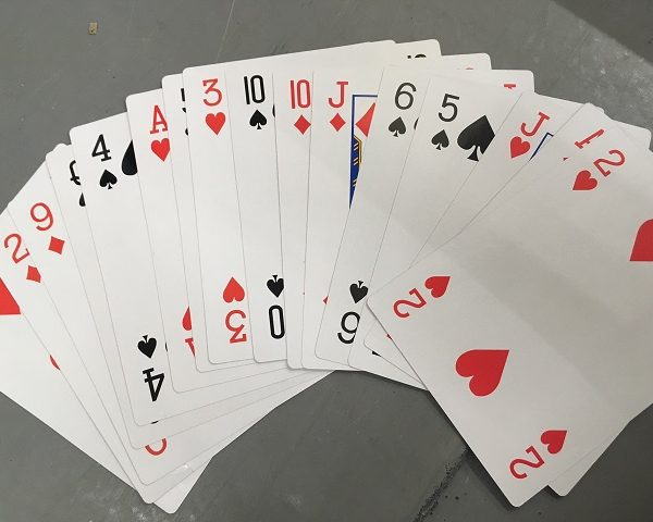 Gigantic Playing Cards