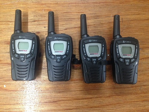 Walkie Talkies Quad set (require batterties)